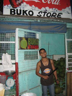 fresh Buko vendor
