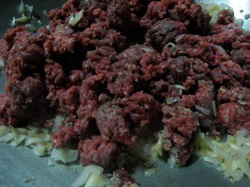saute meat