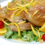 A Chicken Recipe: Poulet a l'Orange