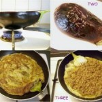 Tortang Talong (Stuffed Grilled Eggplant Omelet)