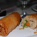 Two versions of Lumpiang Ubod