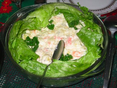 Shrimp Potato Salad