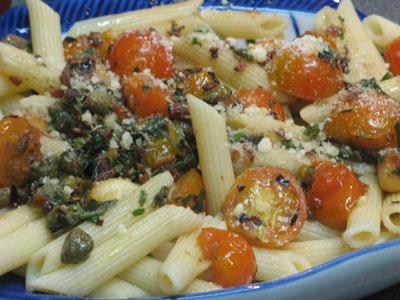anchoy-caper-pasta