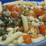 Anchovy and Caper Pasta