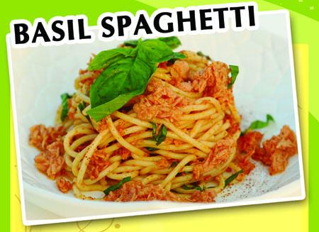 basil spaghetti recipe
