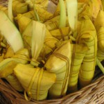 Suman sa Ibus- Sticky Rice in Coconut Leaves