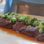 Carpaccio of Beef Tenderloin with Sesame and Ginger dressing