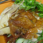 Hainanese Chicken Rice (Singapore variation)