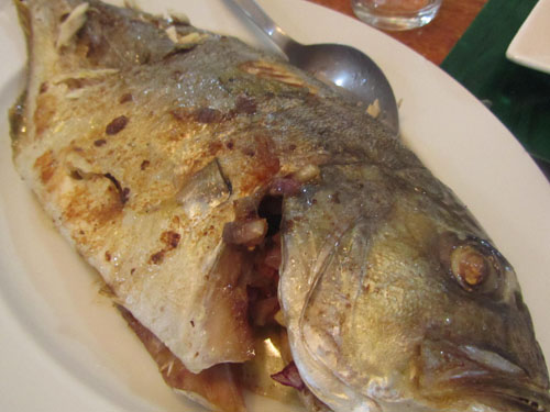baked maliputo fish pinoy food recipes