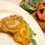 Okoy: Pumpkin and Shrimp Fritters