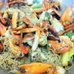 Crab with Chlorohyll's Shirataki Noodles