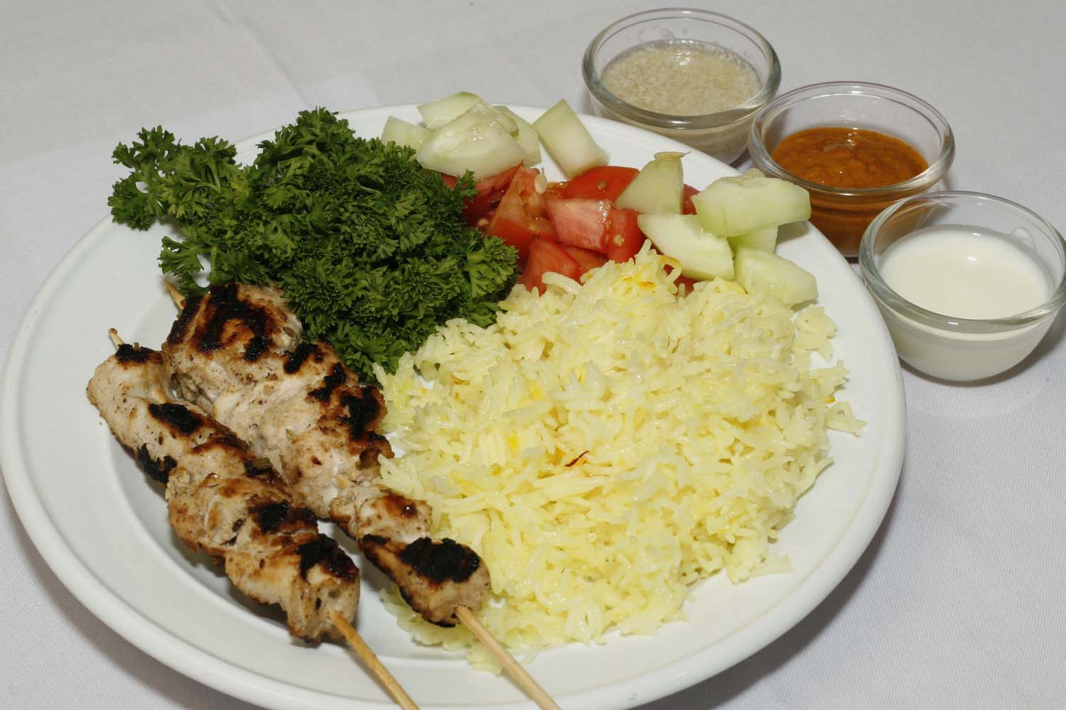 Murgh makhmali kebab chicken barbecue continental for American style cuisine