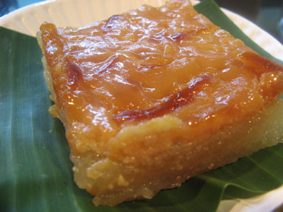 Filipino Cooking Cassava Cake