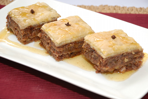 Greek recipe baklava pinoy food recipes watch forumfinder