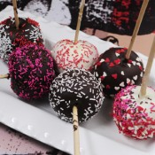 Chocolate Candy for Fun and Profit : Chocolate coated apples, Choco crunchies