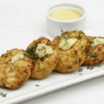 Lent meal ideas- Crabcakes with Aioli Dill Sauce