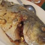 Baked Maliputo Fish