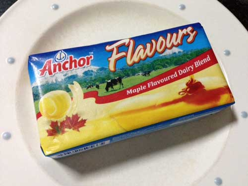 anchor maple butter