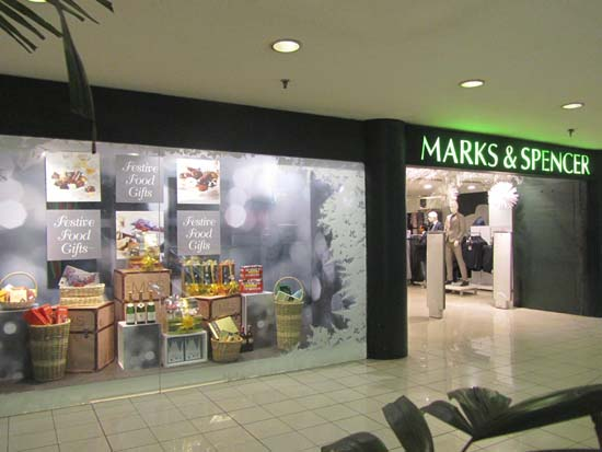 Marks & Spencer Food Line to celebrate the Season