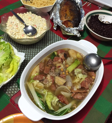 pochero for Christmas day