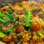 Kiam Pung: Chinese traditional salted rice with mustard