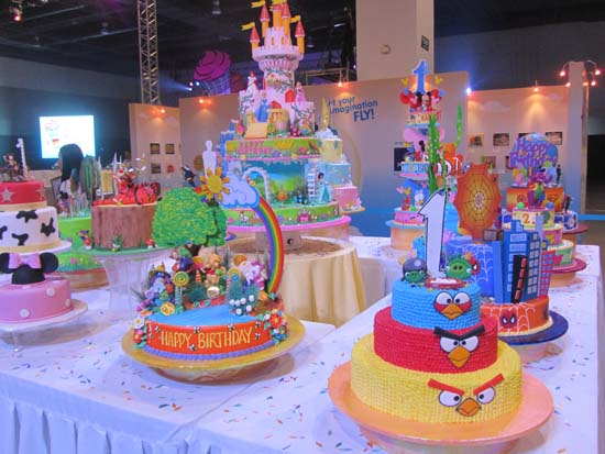 Goldilocks Cake Design For 60th Birthday : Goldilocks Cake decorating challenge: a venue to showcase ...