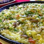 Paella de Cordero (Lamb Paella)