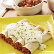 Easy Lasagna Rolls with homemade pasta