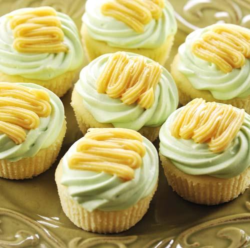 Calamansi Con Leche Cupcake