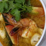 Tom Yam Goong Soup (Hot and Sour Prawn Soup)
