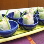 Fresh Smoked Fish Spring Rolls
