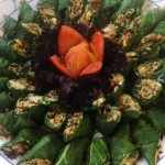 Umbuyan, tinapa flakes wrapped in pechay leaves