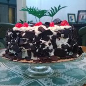 Red Ribbon brings a chocolatier Black Forest Cake