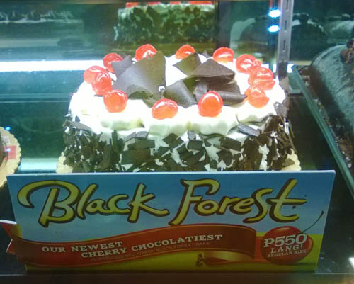 Red Ribbon Brings A Chocolatier Black Forest Cake 187 Pinoy