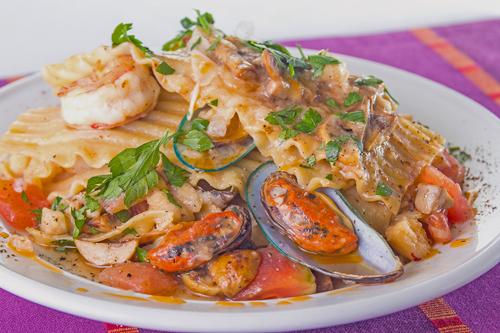 Shellfish Open Lasagne