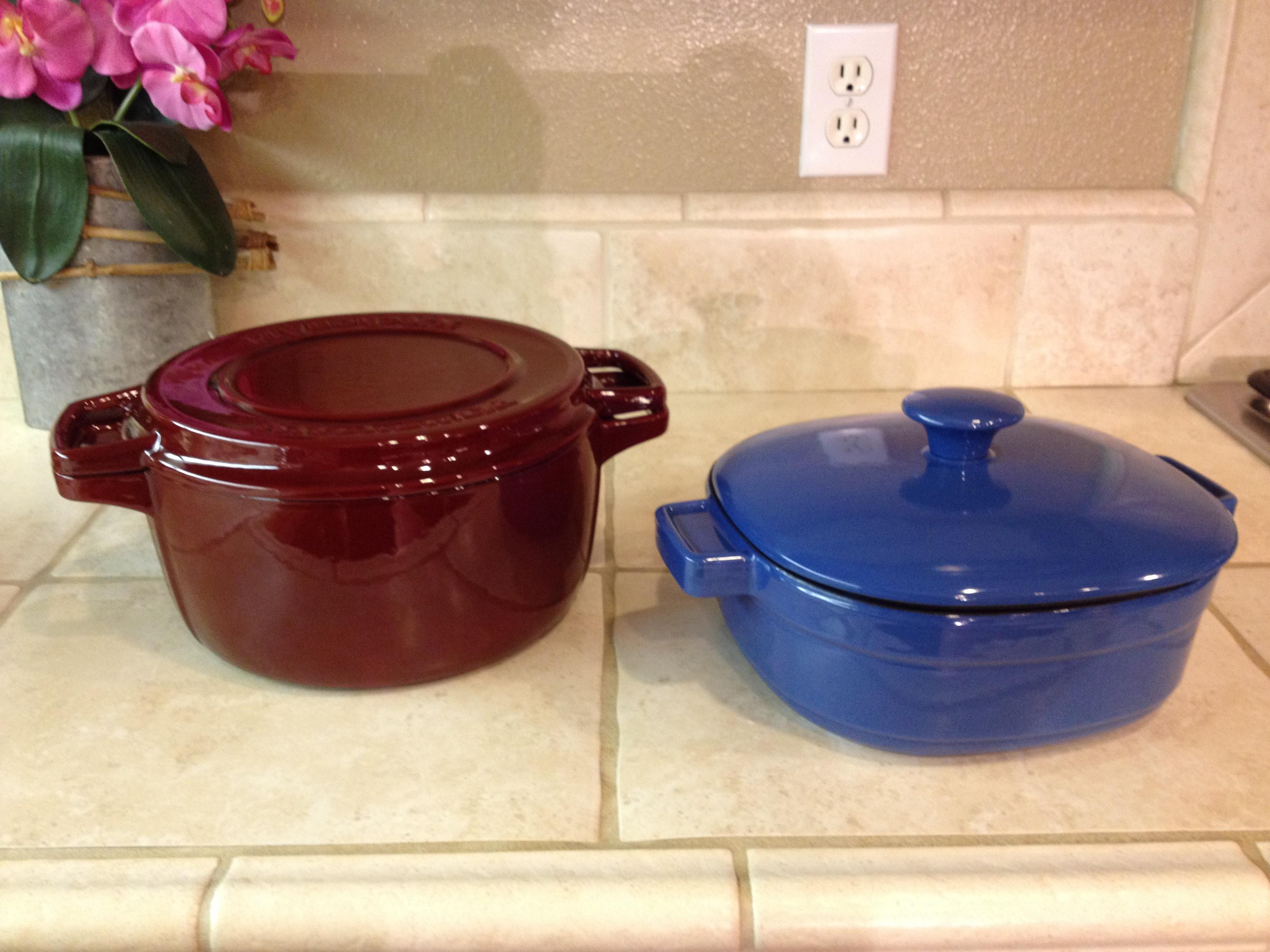 Superior KitchenAid® Cast Iron Casserole Cookware