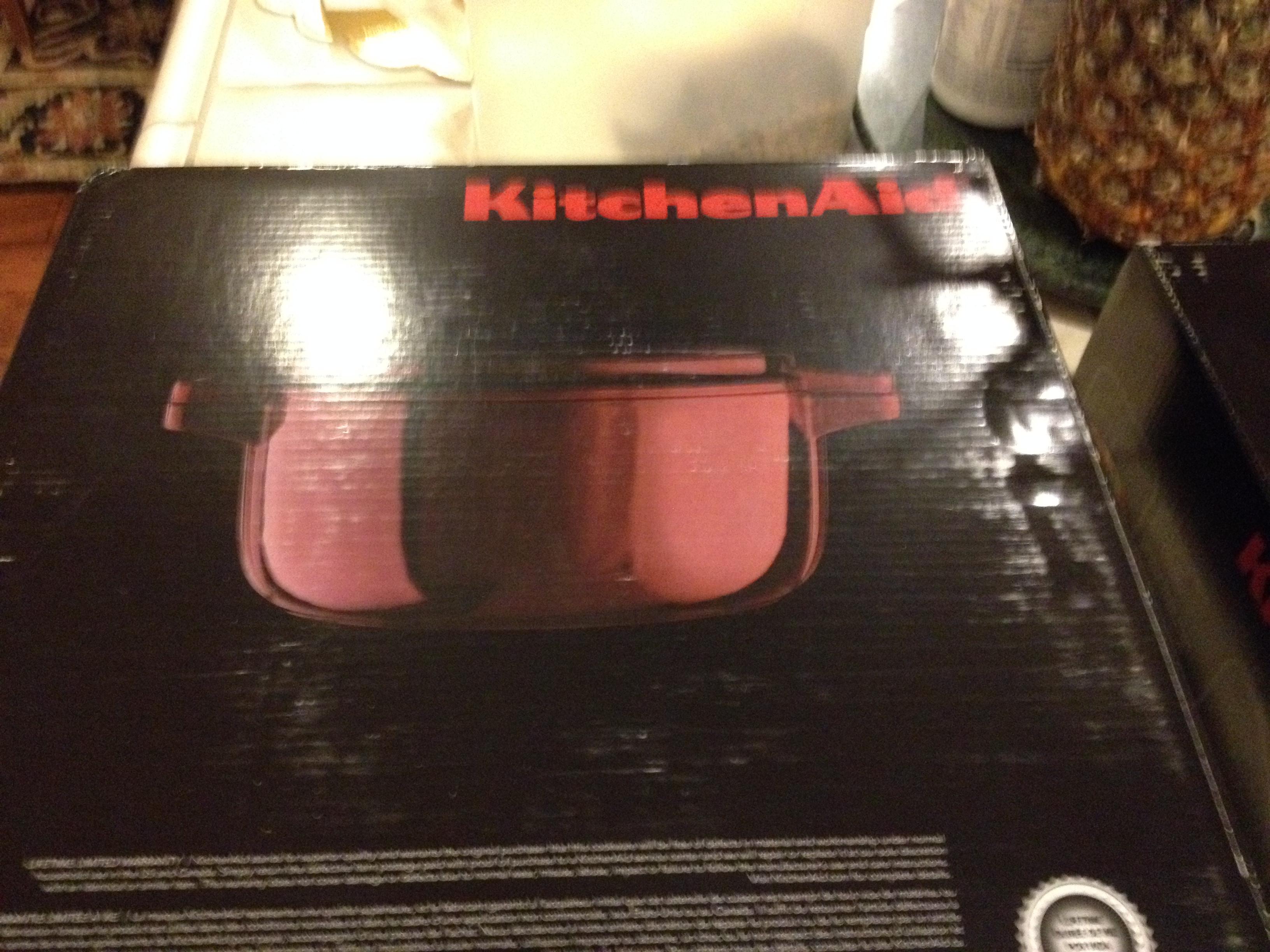 KitchenAid® Professional Cast Iron 4 Quart Casserole (maroon Color)