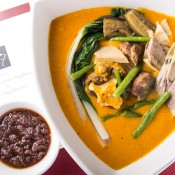 Tito Greg's Kare-Kare (oxtail and tripe stew in a peanut-based sauce)
