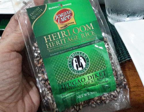 heriloom heritage rice