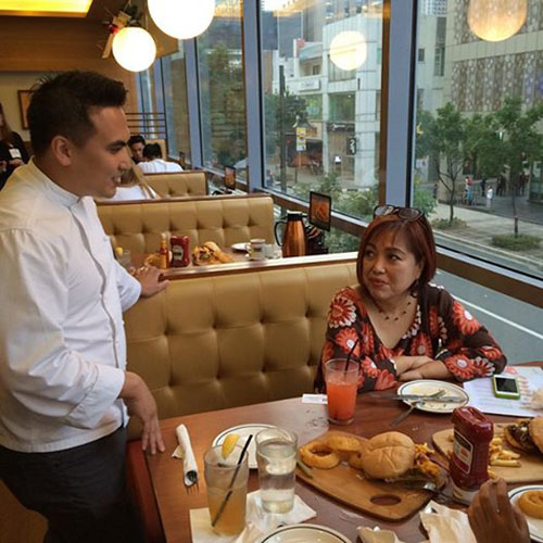 iHOP Executive Chef Paolo Angelo Gutierrez . Photo via iHOP Philippines
