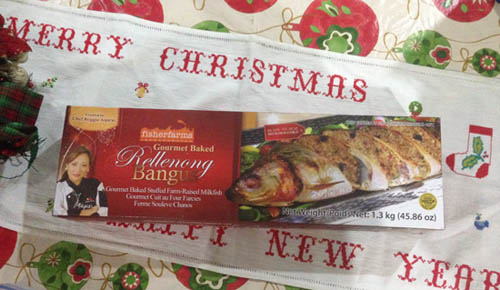 Fisher Farms' Gourmet Baked Rellenong Bangus