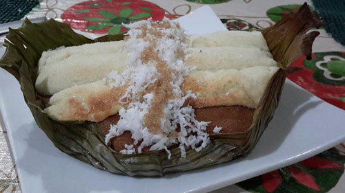 bibingka from the maya mix