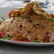 Turn leftovers into holiday classics: Pork Binagoongan Wraps & Breakfast Fried Rice