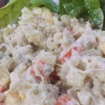 Pinoy Chicken Macaroni salad