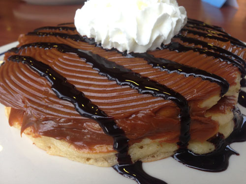 Dulce de leche Pancake