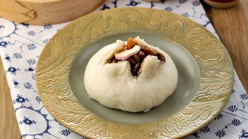 Pork Sausage Pao