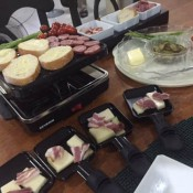 A romantic Raclette dinner to celebrate our 30th anniversary