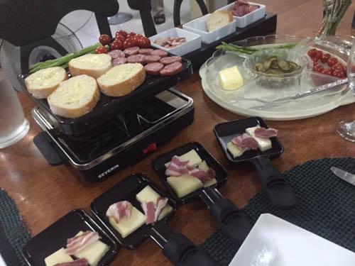 raclette prepration