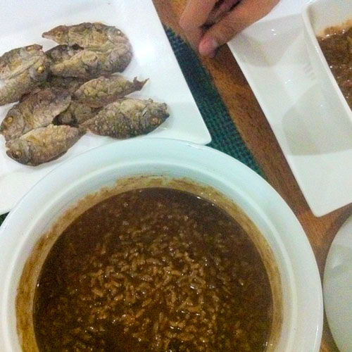 champorado-with-danggit