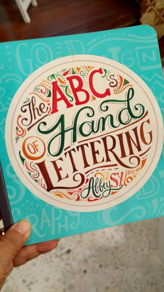 lettering by abbey sy
